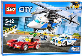 lego city high-speed chase titcombs bookshop