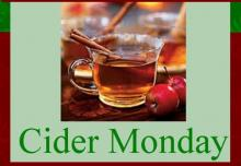 Cider Monday Titcomb's Bookshop December 2