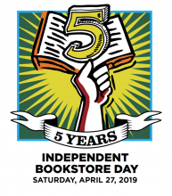 IBD Independent Bookstore Day Titcomb's Bookshop April 27