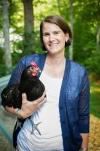 Melissa Coughey How to Speak Chicken at Titcomb's Bookshop March 3