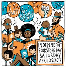 Indie Bookstore Day It's a Party! Titcomb's Bookshop