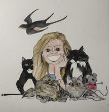 "Author Illustrator Sandra Hall ""The Mouse on the Catboat"" Titcomb's Bookshop November 16 at 2:00 PM"